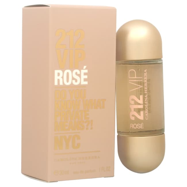 Carolina Herrera 212 VIP Rose (Pink) Women's 1-ounce Eau ...