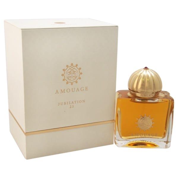 Shop Amouage Jubilation 25 Womens 17 Ounce Eau De Parfum Spray