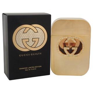 Gucci Guilty Diamond Women's 2.5-ounce Eau de Toilette Spray (Limited Edition)