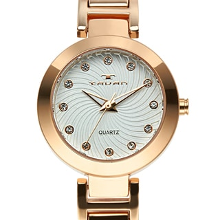 Tavan Women's Siren Austrian Crystal Accented Dial Watch