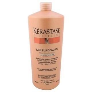 Kerastase 34-ounce Discipline Bain Fluidealiste No Sulfates Smooth-in-Motion Shampoo