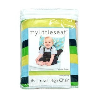 My Little Seat Seaside Stripe Travel Highchair