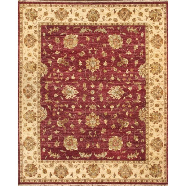 Shop ABC Accent Hand-knotted Mahal Vegetable Dyes Wool Rug