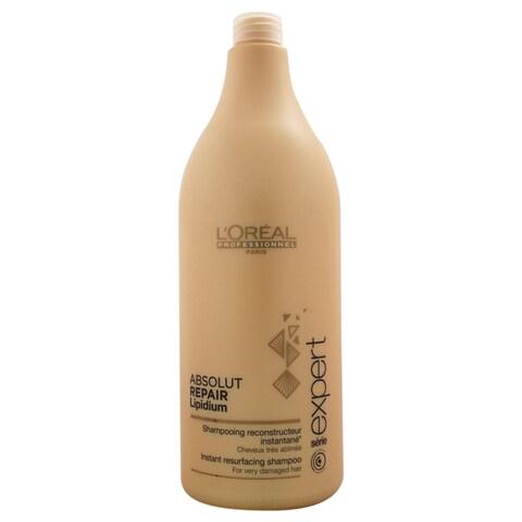 L'Oreal Professional 50.7-ounce Serie Expert Absolut Repair Lipidium Shampoo