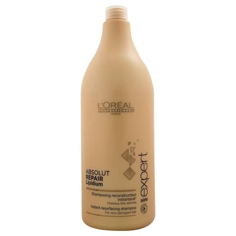 L'Oreal Professional 50.7-ounce Serie Expert Absolut Repair Lipidium Shampoo