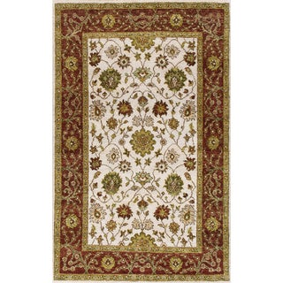 ABC Accent Hand-knotted Vegetable Dyes Tree of Life Wool Rug (4' x 6')