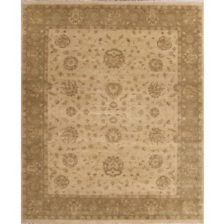 ABC Accent Hand-knotted Ziegler Wool Rug (8' x 10')