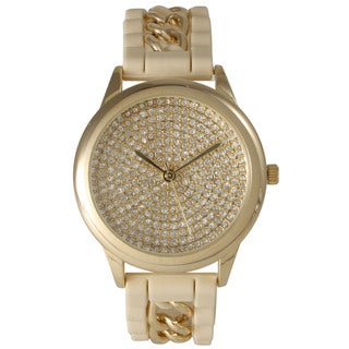 Olivia Pratt Silicone Jewel Women's Watch