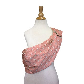 The Peanut Shell Cotton Adjustable Sling in Coral Tile