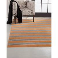 Greyson Living Spencer Tangerine Viscose Area Rug (5'3 x 7'6) - 5'3 x 7'6