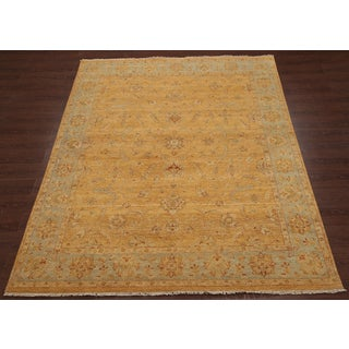 ABC Accent Mumtaz Hand-knotted Persian Gold Wool Rug (9' x 12')