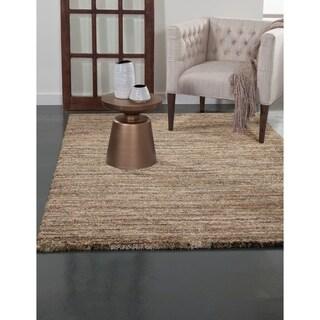 Greyson Living Elmwood Orange/ Brown/ Green/ Multi Olefin Area Rug (5'3 x 7'6)