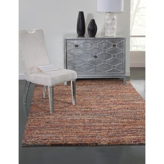 Greyson Living Elmwood Red/ Multi Olefin Area Rug (5'3 x 7'6)