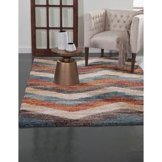 Greyson Living Orson Multicolored Olefin Area Rug (5'3 x 7'6)