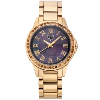 Picard and Cie Women's Kimber Gold-tone Mother of Pearl Watch