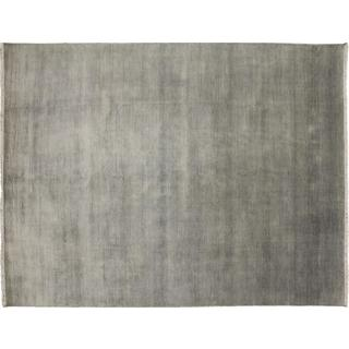 Super Fine Grass Dasha Grey Hand-knotted Rug (8'10 x 11'4)