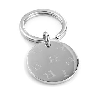 Cartier Stainless Steel Key Ring