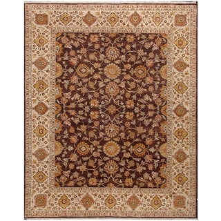 Abc Accent Sultanabad Hand Knotted Beige Wool Rug 4 X 6
