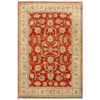 ABC Accent Ziegler Mahal Hand-knotted Rug (6' x 9')