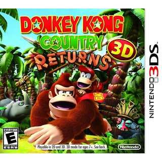 DONKEY KONG COUNTRY RETURNS 3D -Nintendo 3DS