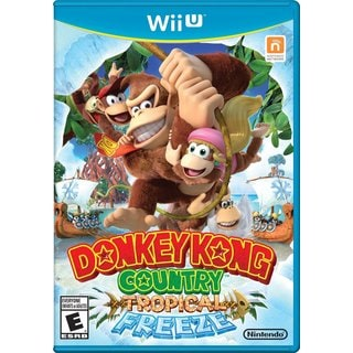 DONKEY KONG COUNTRY: TROPICAL FREEZE -Wii U