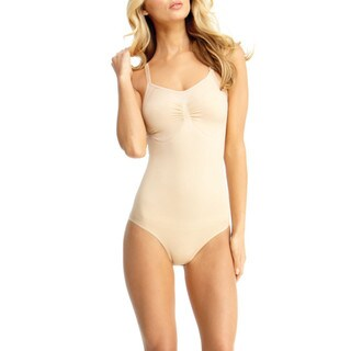 Memoi Women's Body Suit With Brief Shaper