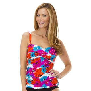 Women's Bayshore Bloom Tankini by Mazu Swim