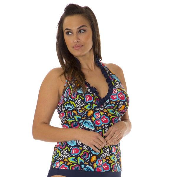 Shop Women's Tempest Plus Size Tankini by Mazu Swim - Free