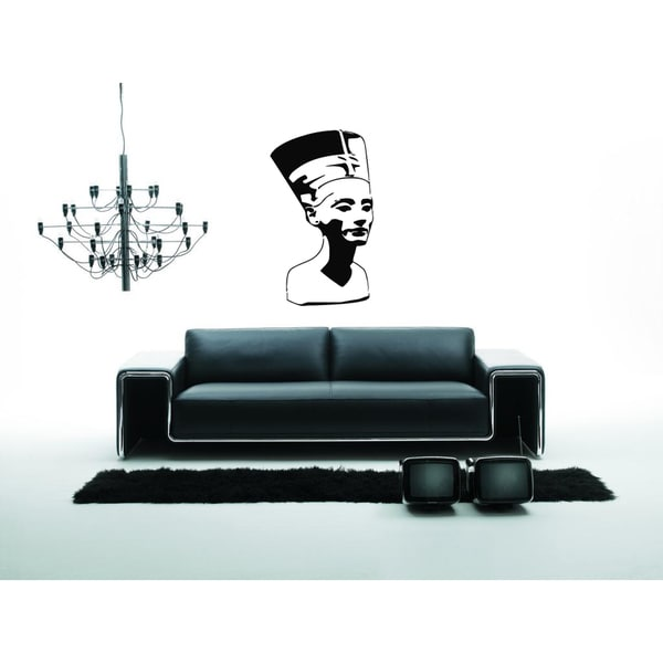 Nefertiti's Profile Wall Art Sticker Decal