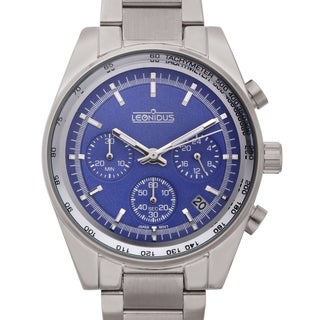 Leonidus Women's Eutropia Blue Dial Multi-function Watch