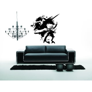 Silhouette Rugby Football Rugby league The Greatest Game England Wall Art Sticker Decal