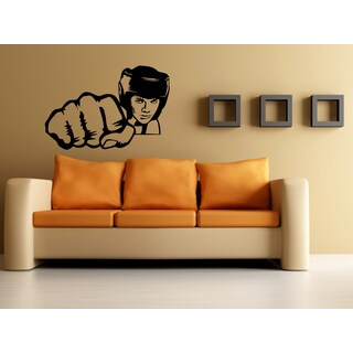 Kickboxing Boxing glove Girl Wall Art Sticker Decal