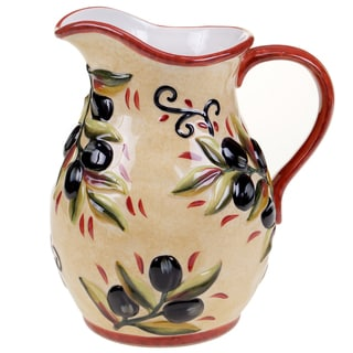 Certified International Umbria Pitcher 3-quart