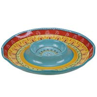 Certified International Valencia Chip and Dip 13.25-inch