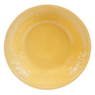 Certified International Binaca Gold Serving/Pasta Bowl 14-inch x 3-inch