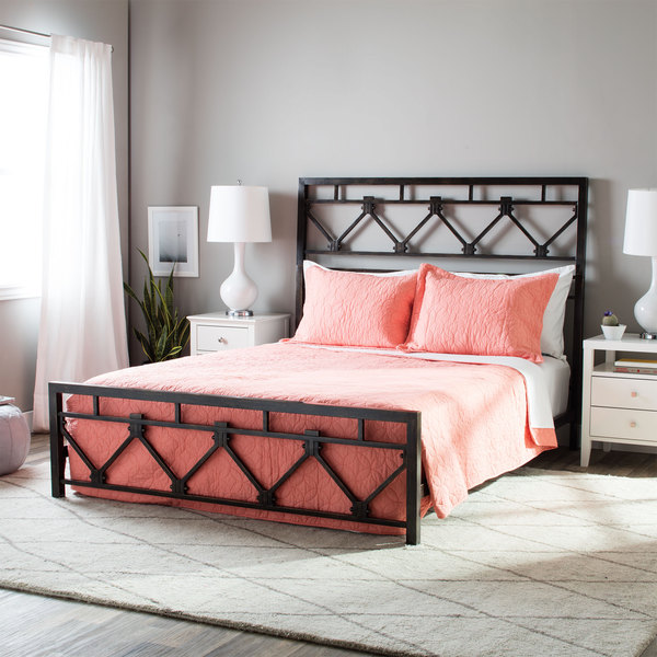I Love Living Bombay Metal Queen Size Bed - Free Shipping Today ...