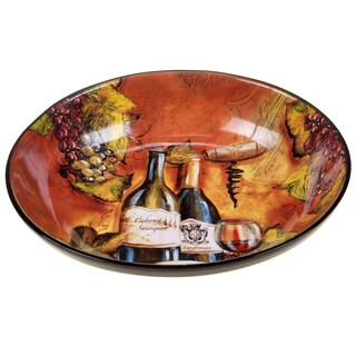 Certified International Private Reserve Serving/Pasta Bowl 13.25-inch x 3-inch