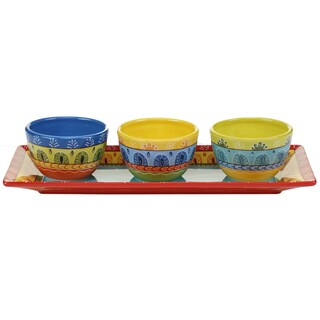Certified International Valencia 4-piece Serving Set