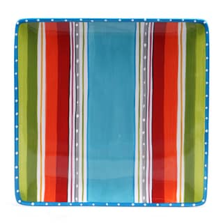 Certified International Mariachi Square Platter 12.5-inch