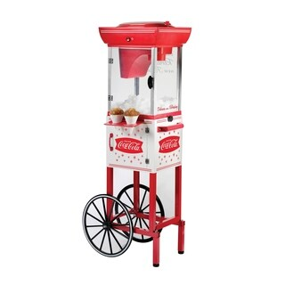 Nostalgia SCC399COKE 4 ft. Tall Coca-Cola Snow Cone Cart