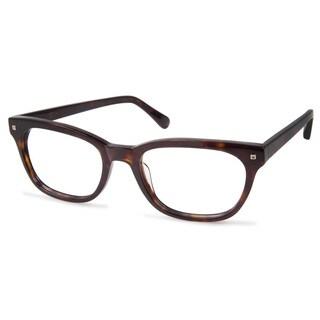 Cynthia Rowley Eyewear CR6003 No. 20 Dark Tortoise Square Plastic Eyeglasses