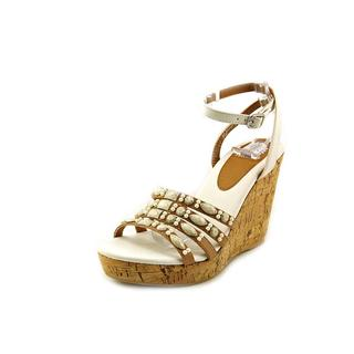 Yellow Box Women's 'Kerr' Synthetic Sandals