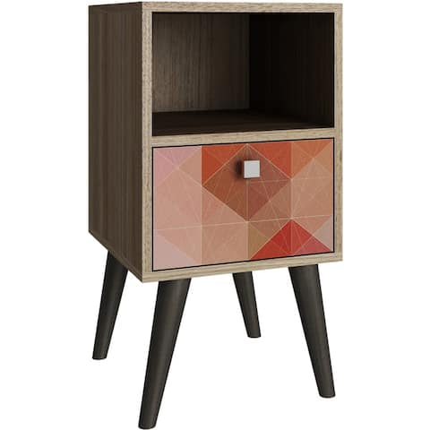 Manhattan Comfort Abisko Stylish Side Table