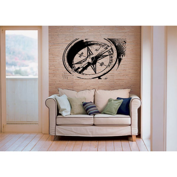 Picture Compass Wall Art Sticker Decal