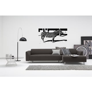 Animal Zebra Wall Art Sticker Decal