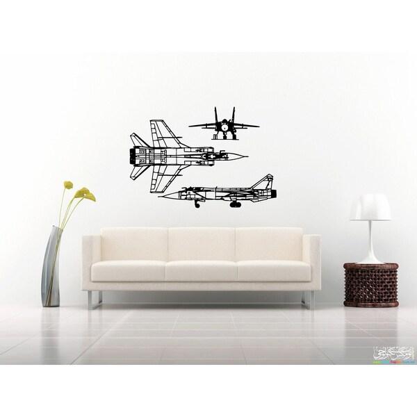 War Plane Wall Art Sticker Decal