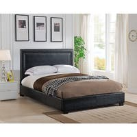 Baffin, King and California King Size, Black Upholstered Headboard