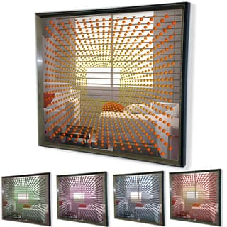 Designart - Modern Mirror 'Sunburst' Framed 3D Acrylic Mirror Art|https://ak1.ostkcdn.com/images/products/11445469/P18404926.jpg?impolicy=medium