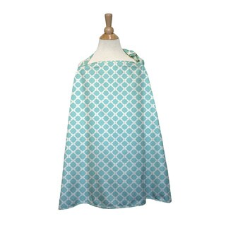 The Peanut Shell Cotton Nursing Cover in Morocco Print