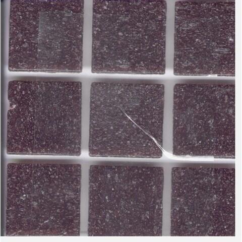 "Grape Purple Brio 3/4"" inch Mosaic Tiles"